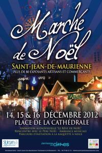Affiche Marché de Noël 2012