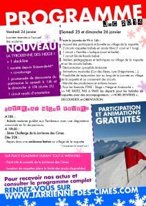 Programme JDC 2014