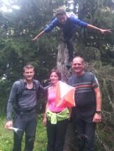 Selfie de la Jarrienne des Cimes - Equipe 1