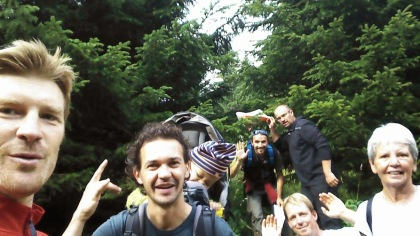 Selfie de la Jarrienne des Cimes - Equipe 2