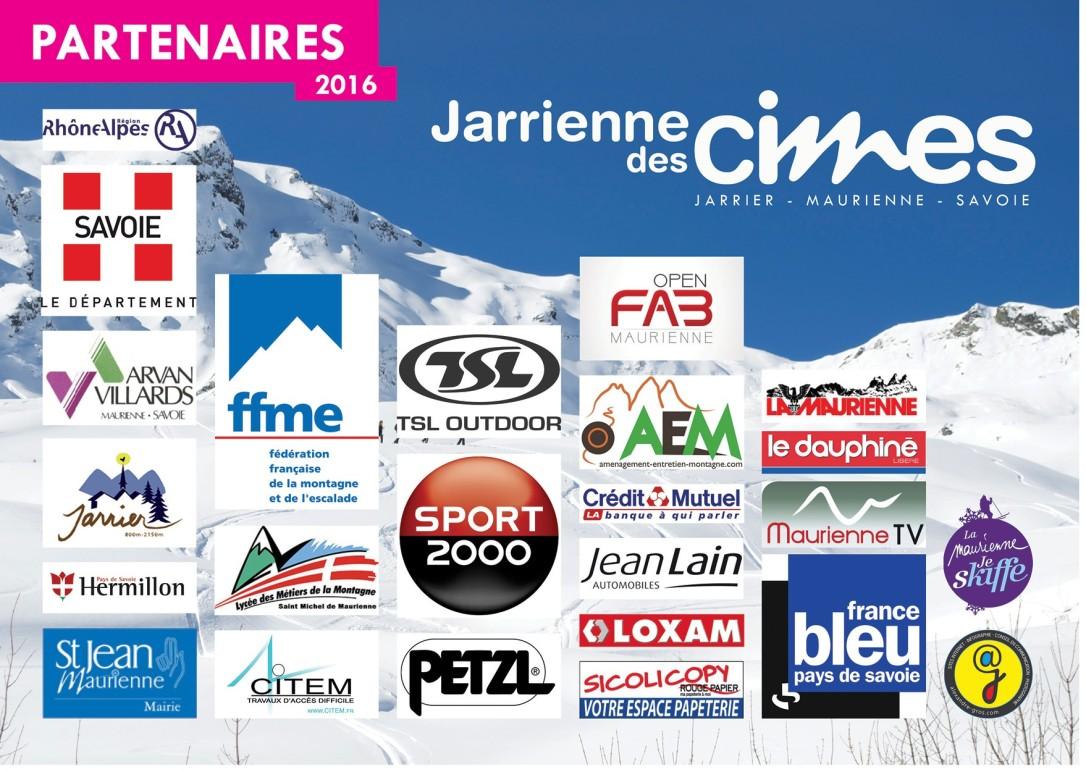 Partenaires Jarrienne des CImes 2016